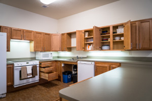 Model Unit Kitchen