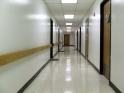 Wide hallways
