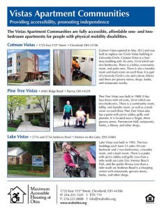 vistas communities newsletter